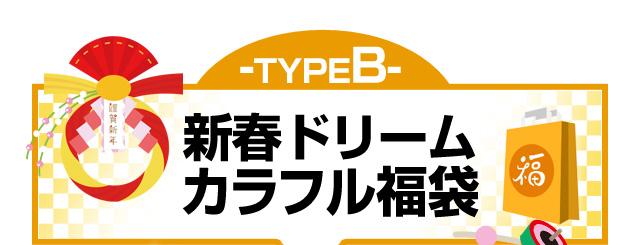 TypeB 新春ドリームカラフル福袋