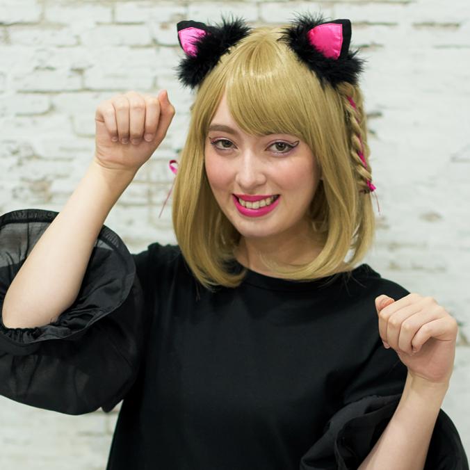 黒猫仮装 スライダー02