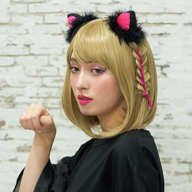 黒猫仮装 スライダー03