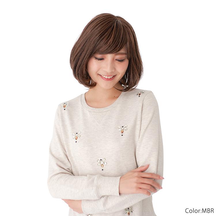 赤みのある明るめの茶色に渋みのある毛が入った茶色「モカブラウン」。ほどよく渋みの入った色合いは、新色として登場してからずっと人気のカラーです。