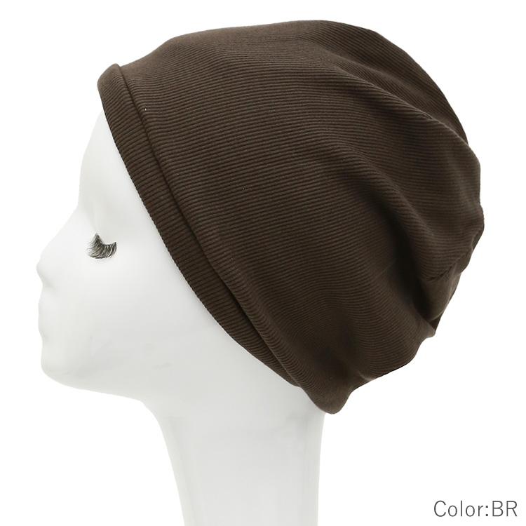 アクアドールのケア用品、医療用帽子コットンリブワッチグレー色