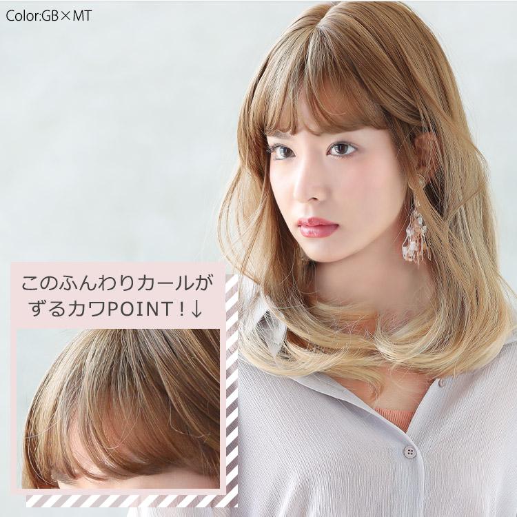 アクアドールの生まれ変わったファッションウィッグのポイントは、ずるいくらいカワイイ前髪にあります