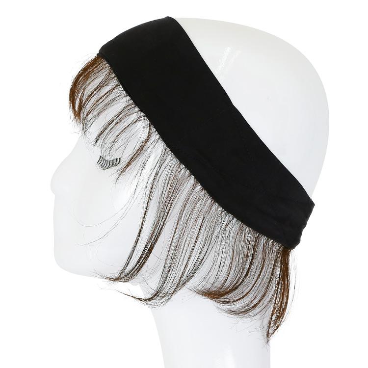アクアドールのウィッグケア用品、人毛100%うぶ毛付き固定バンドの側面1
