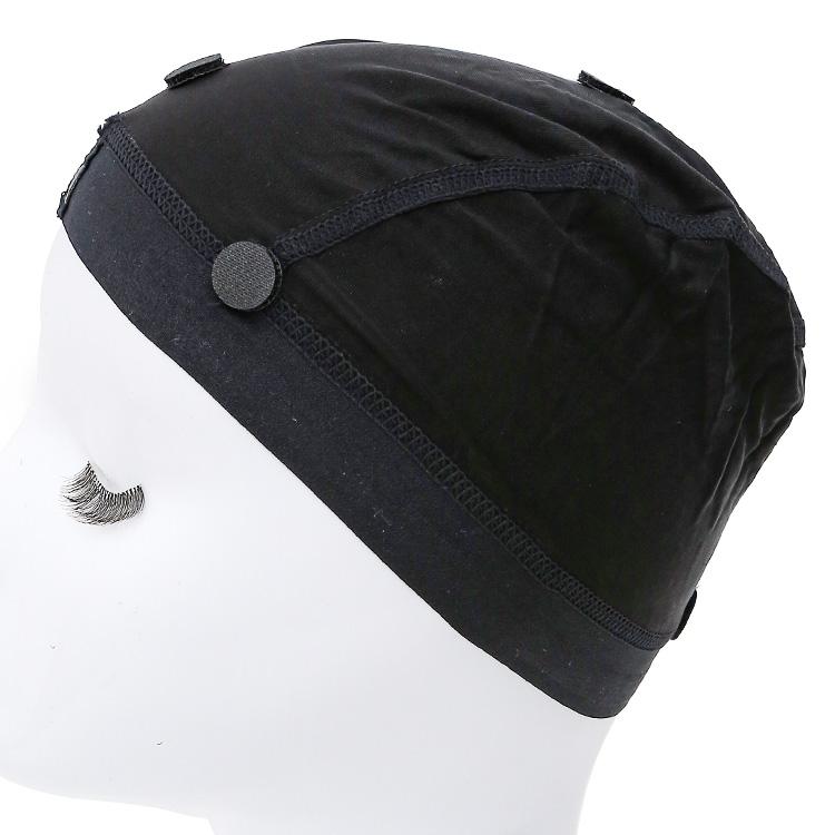 ウィッグがずれるのが不安という方の為に生まれたケア用品、滑り止め付き涼感インナーキャップの背面