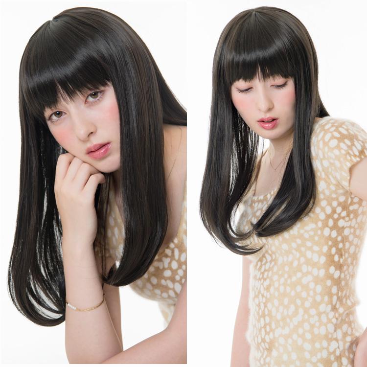 アクアドールのファッションフルウィッグ、「スイートワンカールミディアムウィッグ」のカラーJBKです。