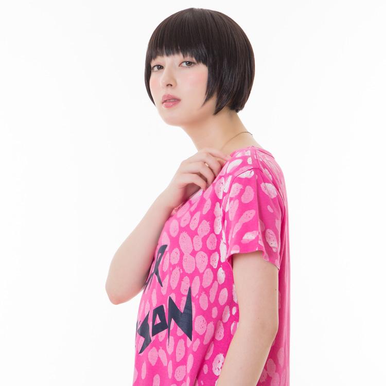 アクアドールのファッションフルウィッグ、「小顔ナチュラルショートウィッグ」のカラーJBKです。
