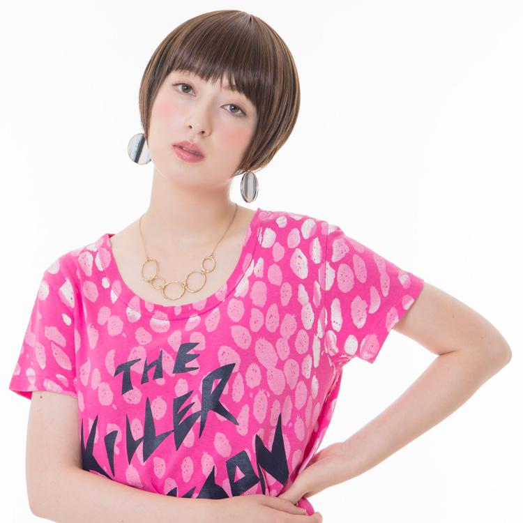 アクアドールのファッションフルウィッグ、「小顔ナチュラルショートウィッグ」のカラーNBです。