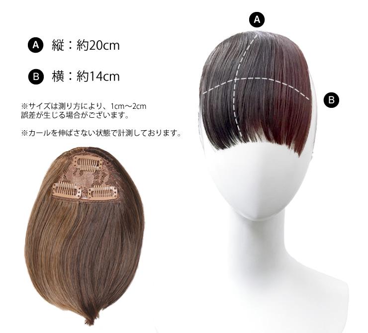 ツートーンバングス前髪ウィッグ[wgt048]