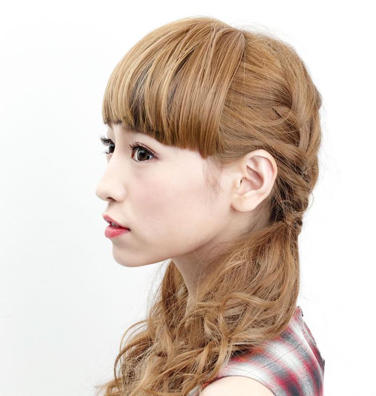 ツートーンバングス前髪ウィッグ02[wgt049]