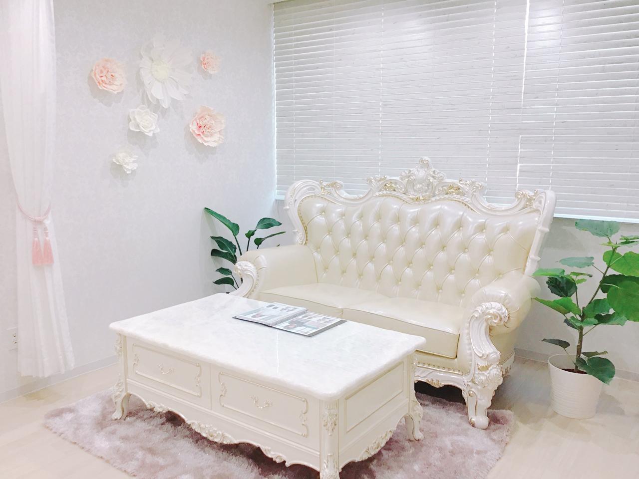 名古屋サロン店舗画像03 待合室