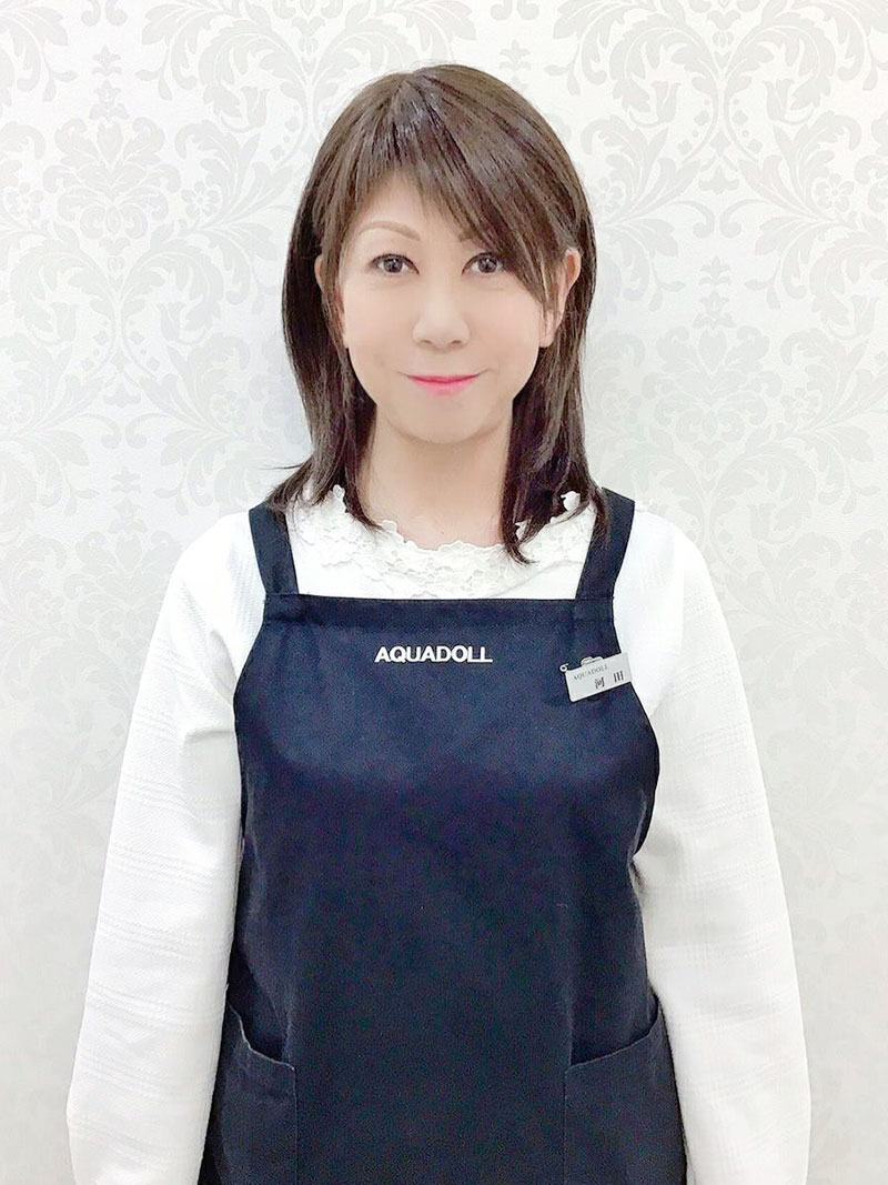 AQUADOLL新宿サロンスタッフ 河田さん