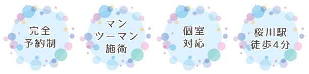 神奈川のAQUADOLL提携美容室 髪と色々 楚々のサービス