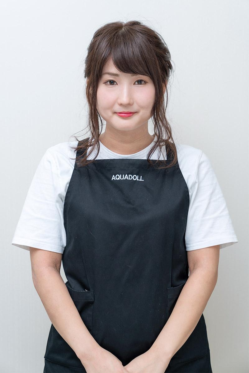 AQUADOLL上野サロン店長 駒谷マネージャー