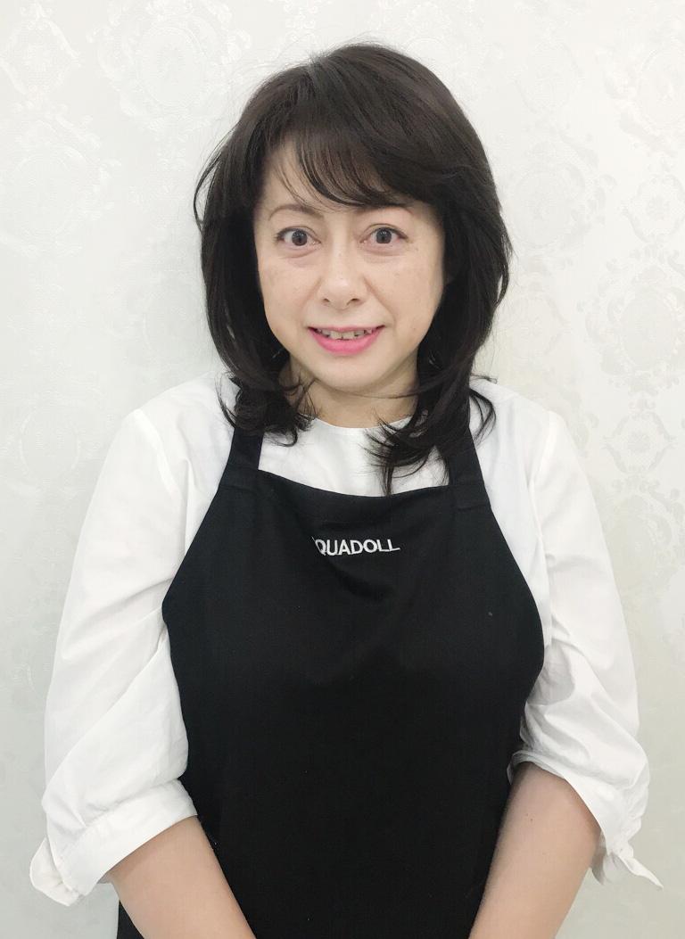 AQUADOLL横浜サロンスタッフ 福澤さん