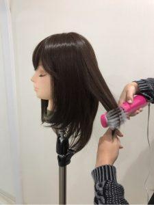 100%人工毛ウィッグのワンカールボブや毛先の戻し方