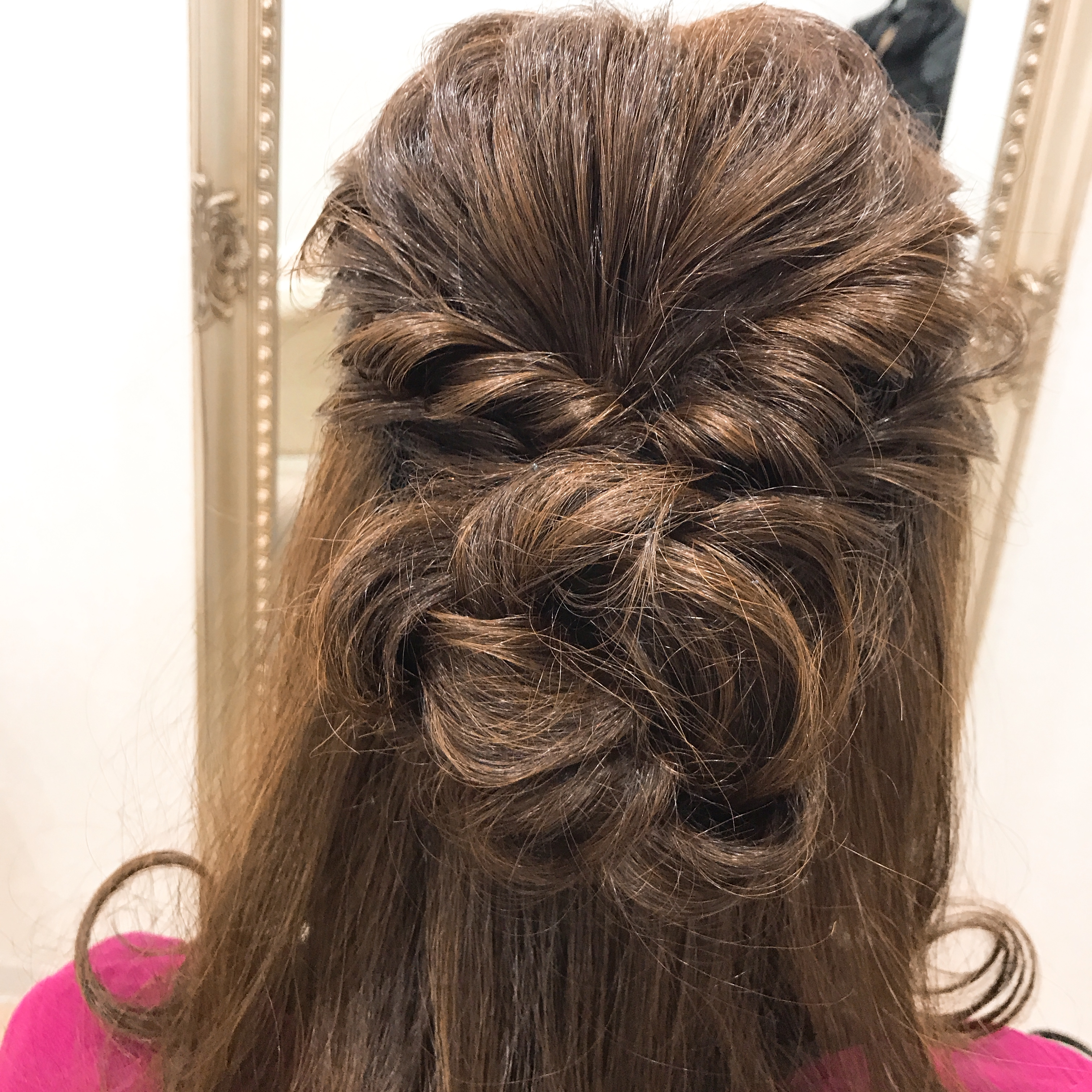 3b6925350244c 結婚式のヘアアレンジ、新婦母上様編 - アクアドール店舗ブログ